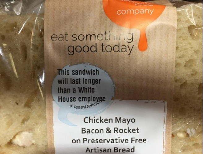 Irish Food Company Pokes Fun At The White House