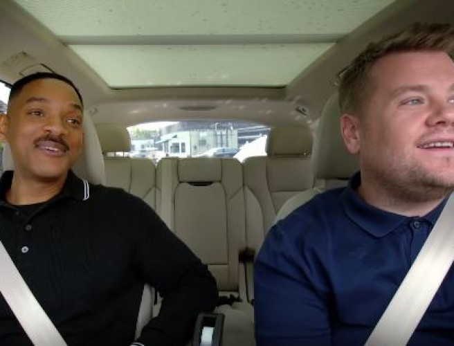 Will Smith Carpool Karaoke Has Landed