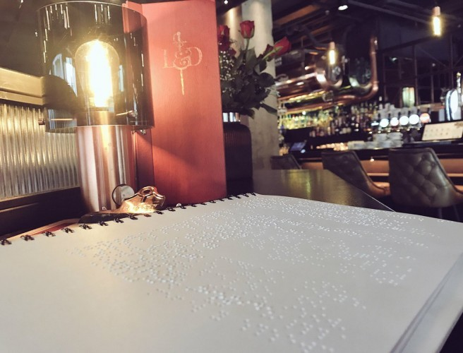 Dublin Bar Now Offering Menu In Braille