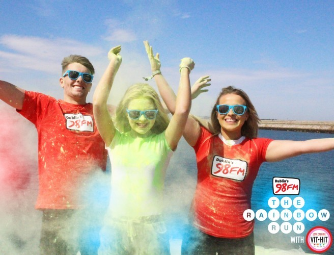 Smash Hits Announced For 98FM's Rainbow Run With VitHit