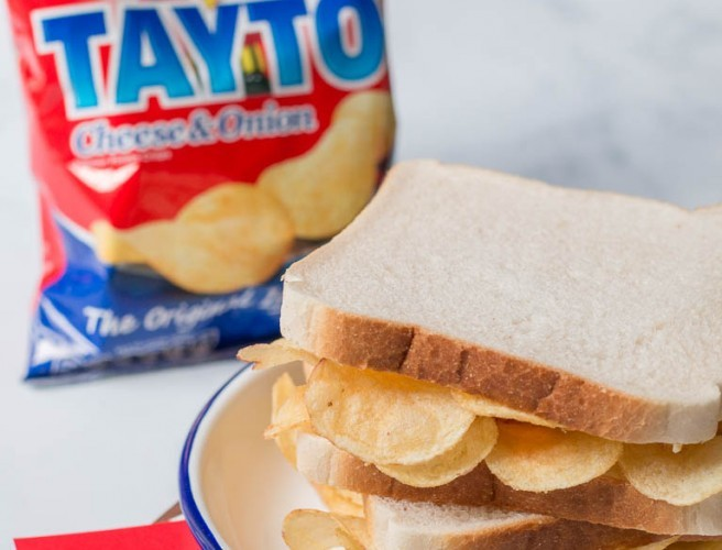 You Can Now Order Tayto Crisp Sandwiches On Deliveroo