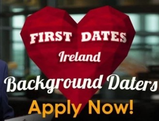 First Dates Ireland Is Looking For Male Background Daters
