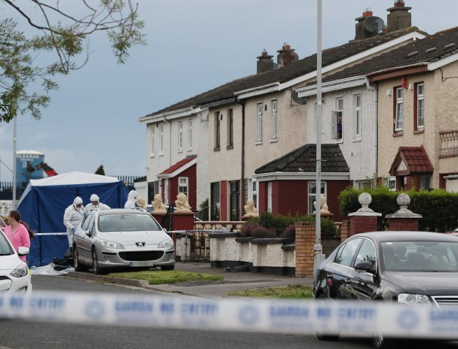 Intended Target Was Holding Toddler At Time Of Ballymun Double Murder