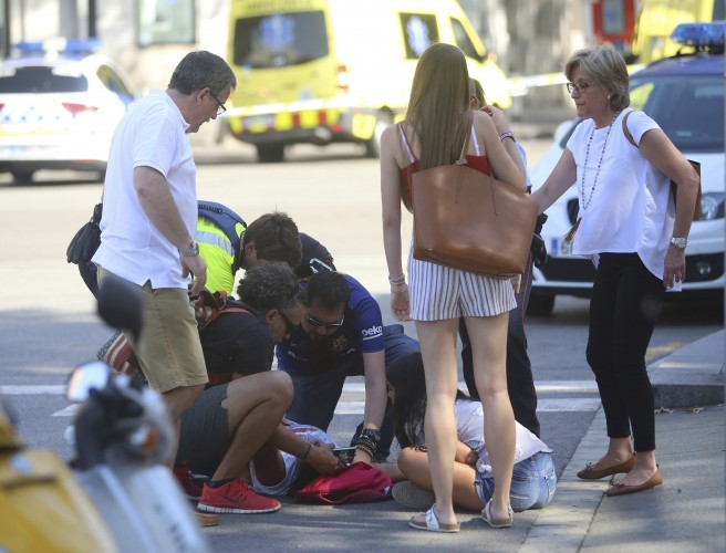 Deaths Confirmed In Barcelona Van Terrorist Attack