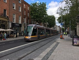 New Luas Tests In The City Centre