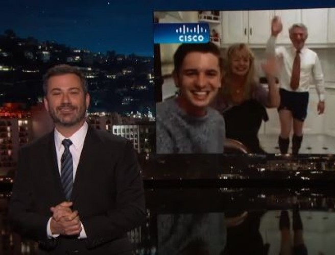 Jimmy Kimmel Interviews Irish Family from Viral Bat Video