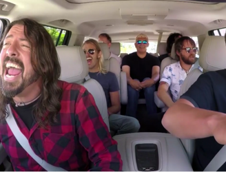 Watch The Foo Fighters' Carpool Karaoke