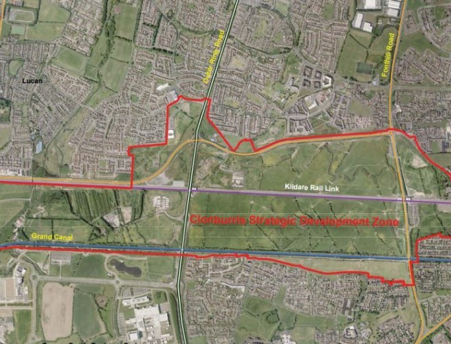 Detailed Plans For Dublin's Newest Suburb Revealed