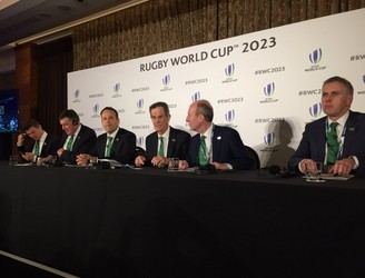 Ireland Makes Final Pitch For Rugby World Cup 2023