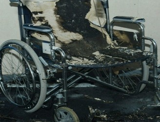 Pensioners Wheelchair Vandalised By Gang With Fireworks In Coolock