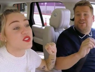 Watch Miley Cyrus' Carpool Karaoke