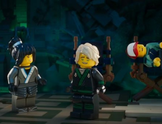 Funny Outtakes From The Lego Ninjago Movie