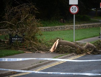 Dublin Tries To Return To Normal After Hurricane Ophelia