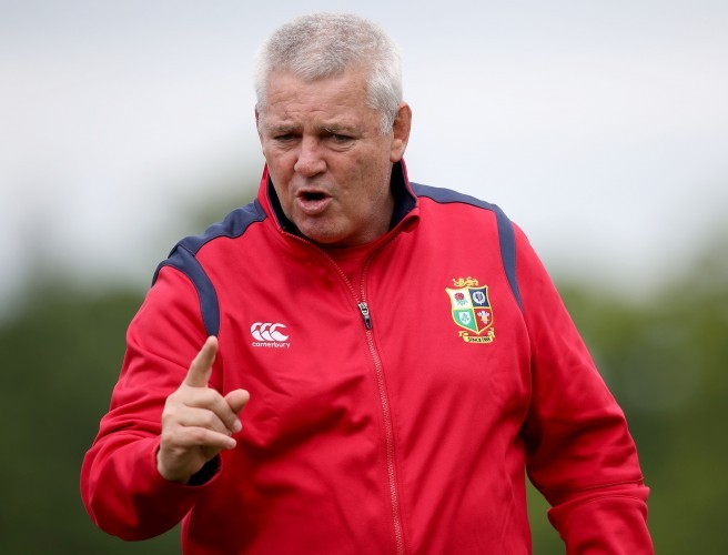 Warren Gatland hits back at Sean O'Brien