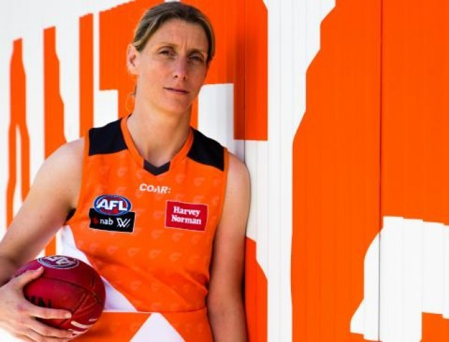 Cora Staunton signs pro terms with AFL side Greater Western Sydney Giants