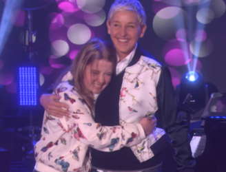 Watch Ellen Degeneres Make An Irish Teen's Dreams Come True