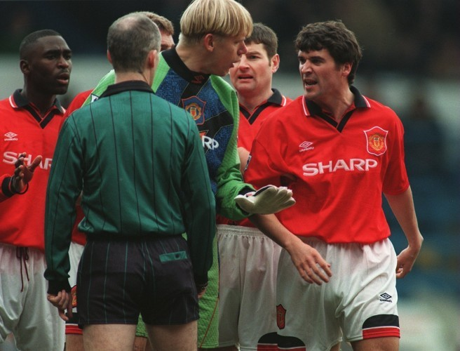 Roy Keane on the night he came to blows with Peter Schmeichel