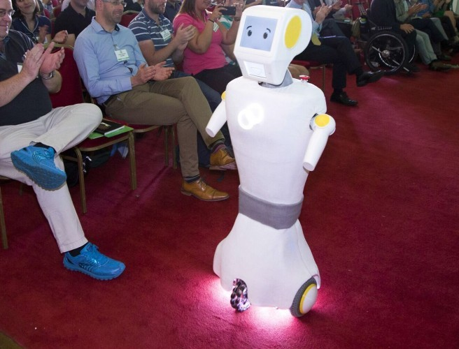 Meet Trinity's Trial Care-Giving Robot 'Stevie'
