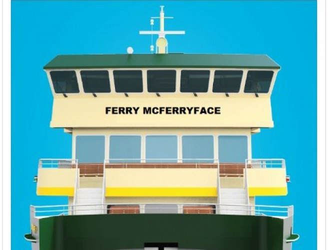 Sydney Harbour Service Named Ferry McFerryface