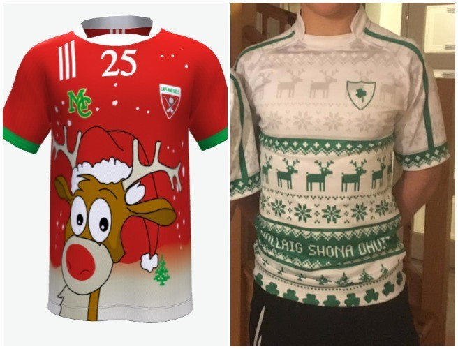 You Can Now Buy Rugby & GAA Christmas Jerseys