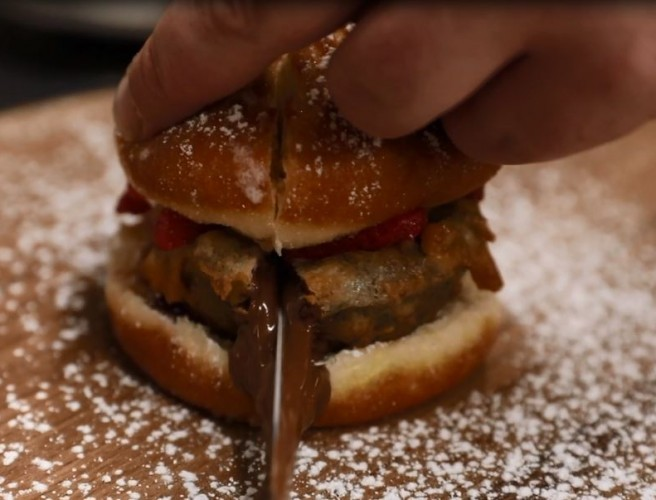A Dublin Restaurant Has Created A Nutella Burger