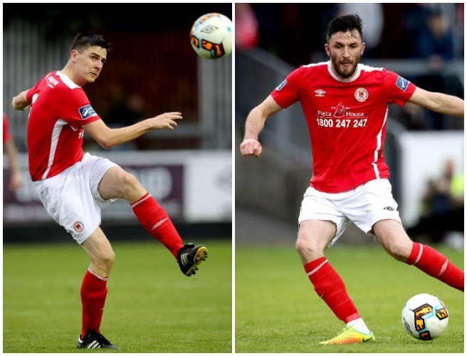 Owen Garvan & Killian Brennan sticking with the Saints
