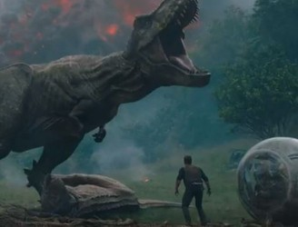 Watch The Trailer For Jurassic World: Fallen Kingdom