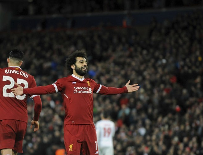Mohamed Salah crowned 2017 African Footballer of the Year