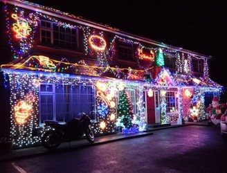 Have You Seen This House Lighting Up Lucan?