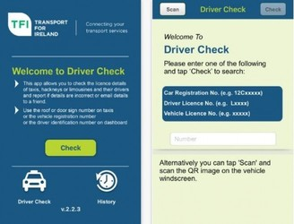 Dubliners Encouraged To Download Taxi Safety App