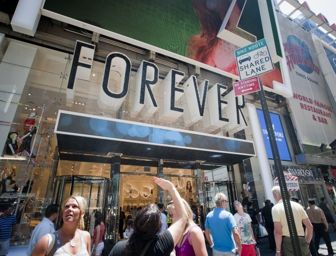 Forever 21 Pulls Out Of Ireland