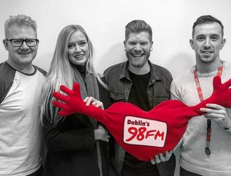 First Dates Alice & Pete On 98FM's Big Breakfast