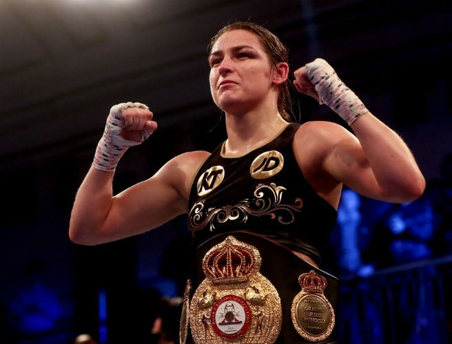 Eddie Hearn Reveals Date For Katie Taylor's Irish Homecoming