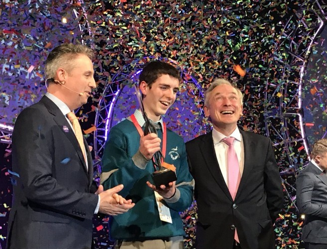 15 Year Old Scoops 2018 Young Scientist Title