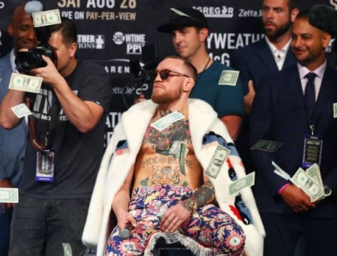 Conor McGregor Debuts In Sunday Independent Rich List