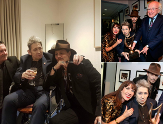 Shane MacGowan Presented With Lifetime Achievement Award