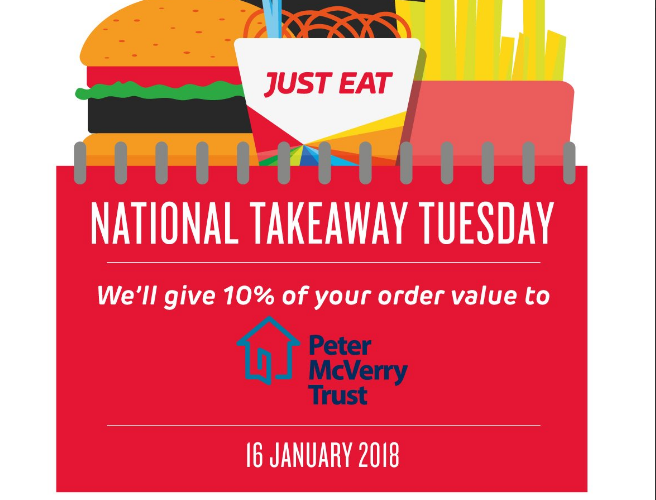 10% Off Today For National Takeaway Tuesday