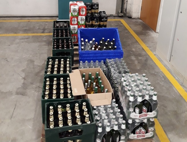 216 Litres Of Beer Seized At Dublin Port