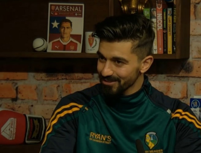 Leitrim hurler Zak Moradi tells us his remarkable story
