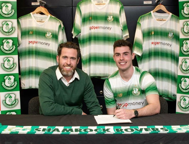 Stephen Bradley finally gets his man for Shamrock Rovers