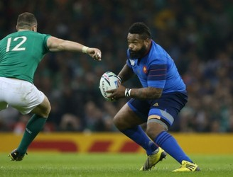 Mathieu Bastareaud out of Six Nations clash with Ireland following ban