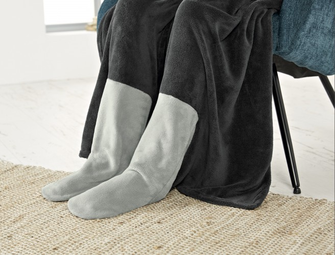 Lidl Is Selling A Blanket With Built In Booties