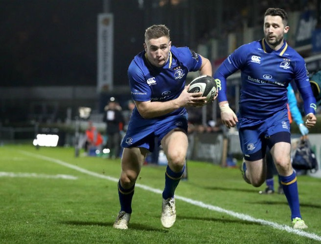 Robbie Henshaw hails 'exceptional' Jordan Larmour ahead of Six Nations
