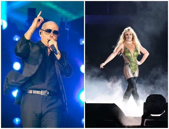 Pitbull To Support Britney Spears At 3Arena