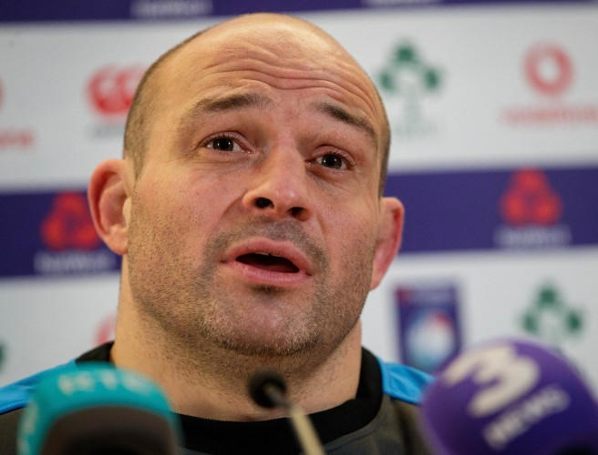 Larmour Ready For Pressure Of Test Rugby - Rory Best