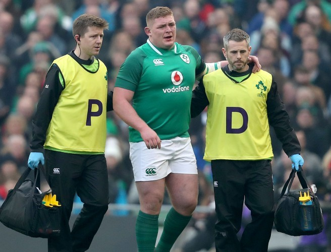 Tadhg Furlong forced off with hamstring injury