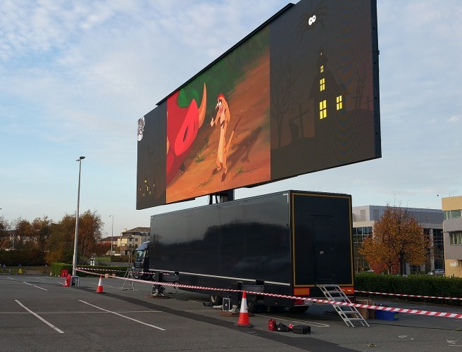 Drive-In Cinema To Return To Dublin This Easter