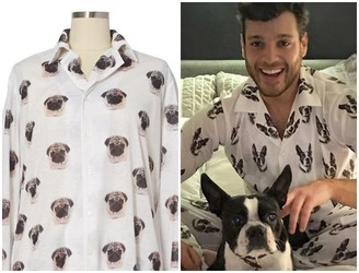 You Can Now Get Pyjamas With Your Pet's Face On Them