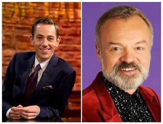 Here's Who's On The Late Late & Graham Norton Tonight
