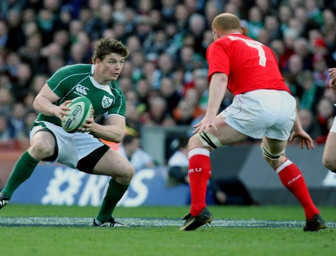 Ireland, Brian O'Driscoll, Wales, Martyn Williams